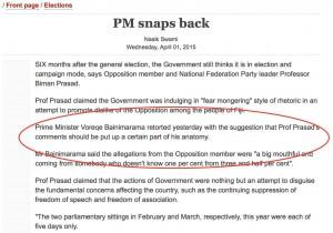 PM snaps