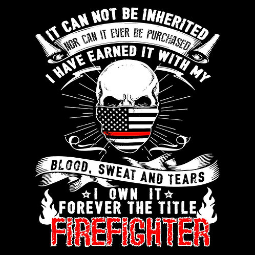 TITLE FIREFIGHTER