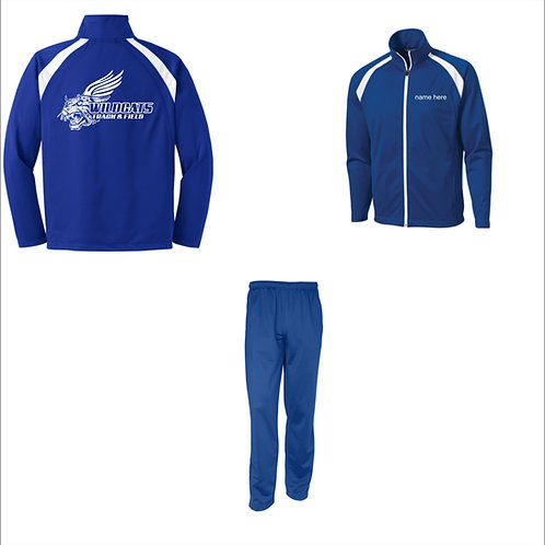 Polyester Jacket and Pants
