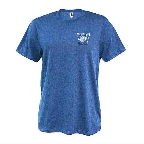 Williamsburg W Cat Left Chest T-Shirt