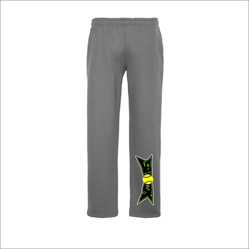 SHOCK Open Bottom Sweatpants