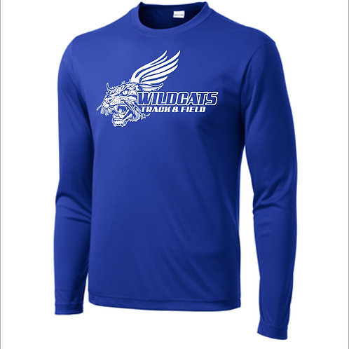 Poly Dri-Fit Long Sleeve with Name