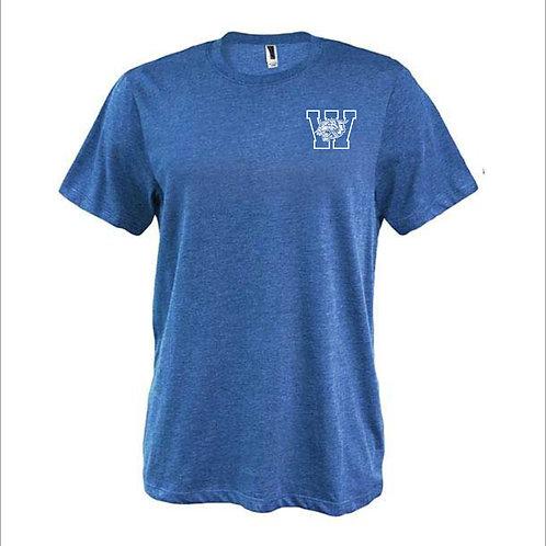 W Cat Left Chest T-Shirt