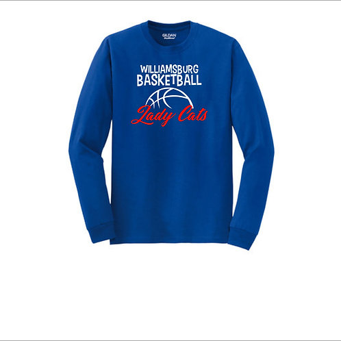 Lady Cats Basketball Long Sleeve