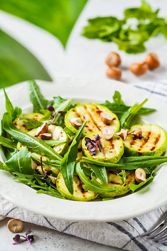 grilled-zucchini-salad-with-arugula-nuts