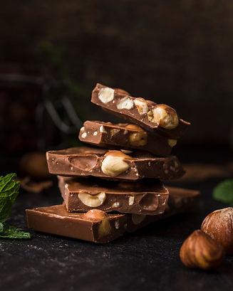 tasty-bars-hazelnut-chocolate_23-2148405