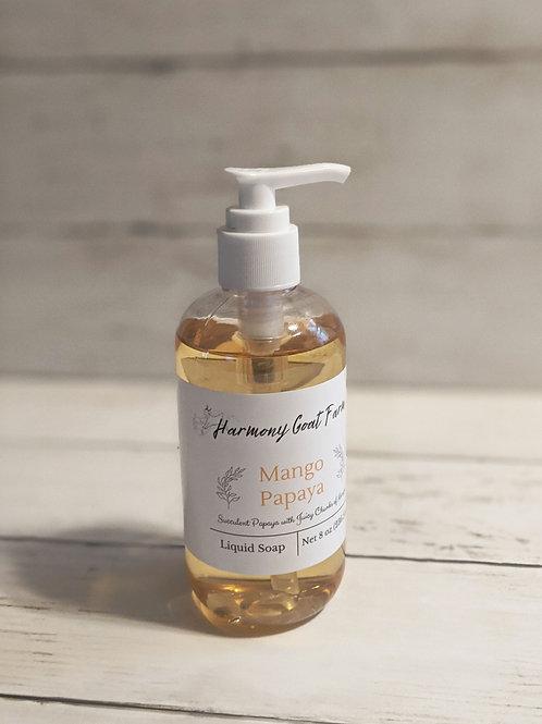 Mango Papaya Liquid Soap