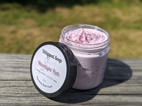 Moonlight Path Whipped Soap