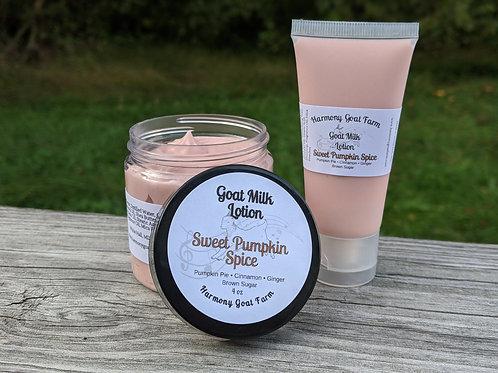 Sweet Pumpkin Spice Goat Milk Lotion