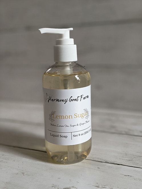 Lemon Sugar Liquid Soap