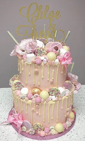 Pink & Girly 2 Tier