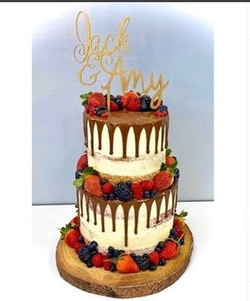 2 Tier Choc with Berries