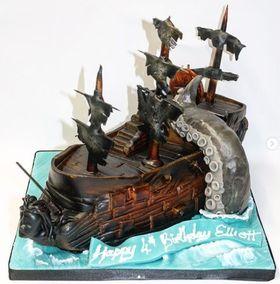 Kraken & Ship