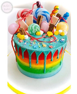 Rainbow with Sweets
