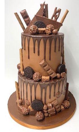 2 Tier Chocolate Heaven