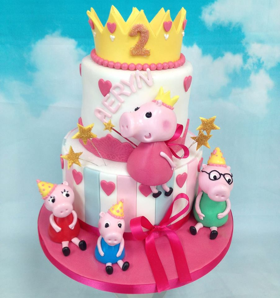 Two tier Peppa Pig