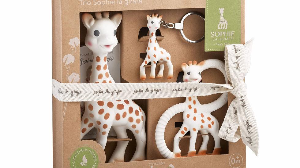 Sophie The Giraffe Trio Gift Box Set