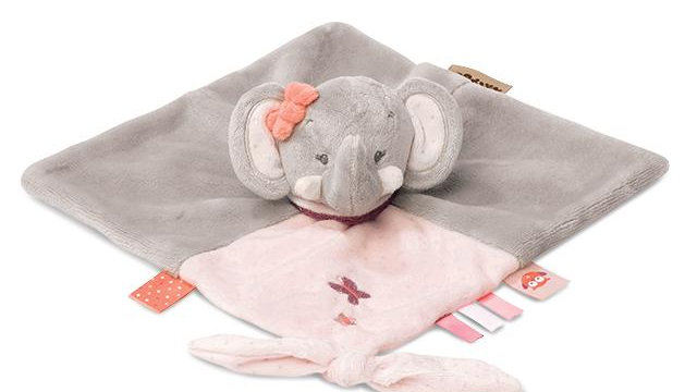 Doudou Comforter Adele the Elephant