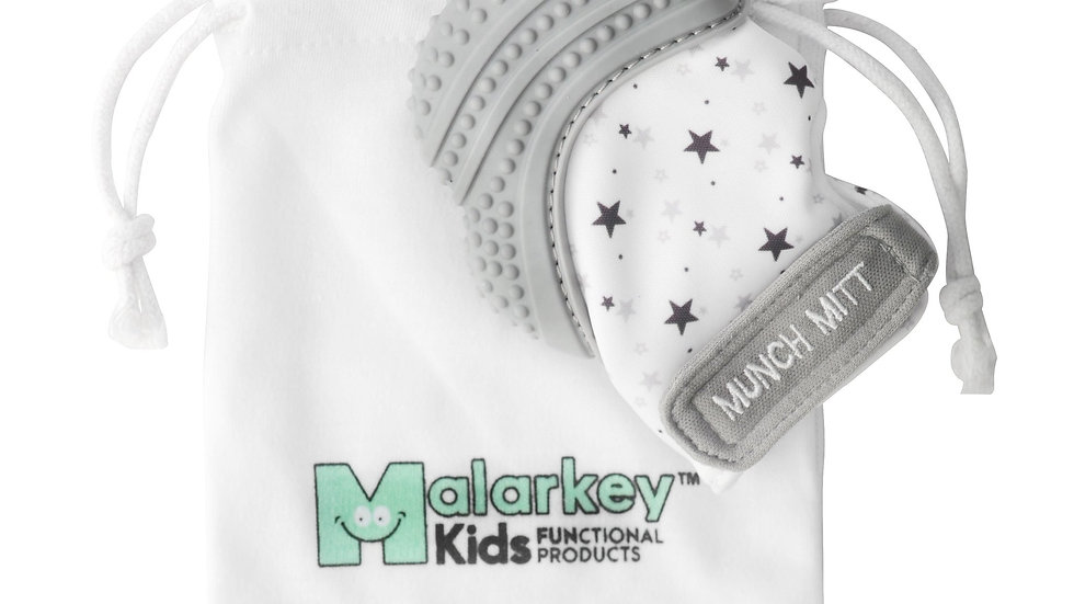 Malarkey Kids Munch Mitt Grey
