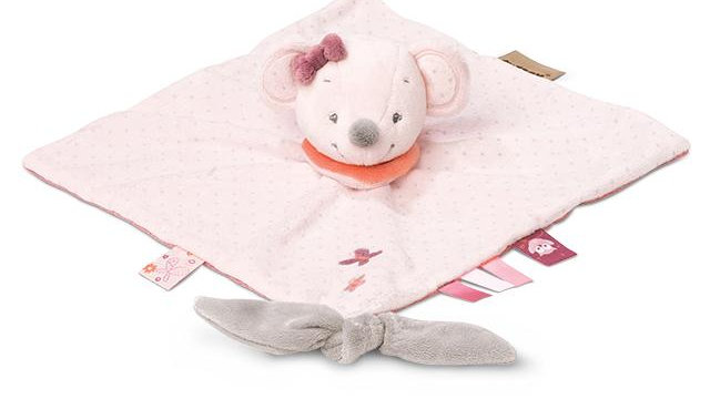 Doudou Comforter Valentine the Mouse
