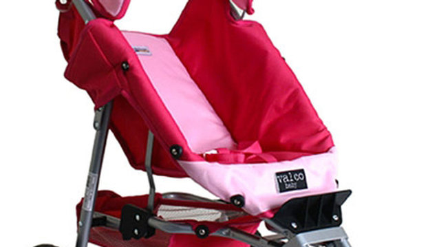 Valcobaby Just like Mum Mini Marathon Doll Pram/Stroller-Pink