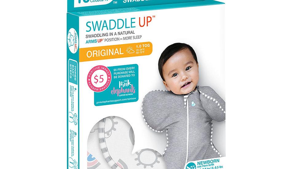 Swaddle Up - 1.0tog Original Rainbow