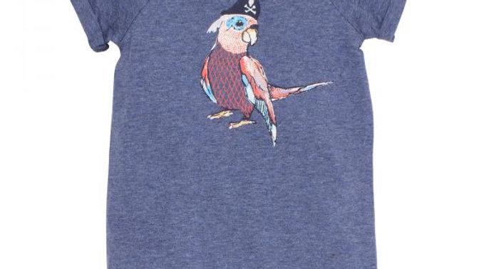Boys Seven Seas Parrot Romper