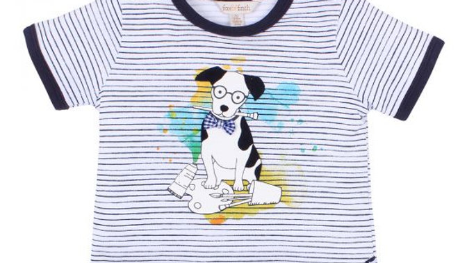 Boys Painter Stripe Tee