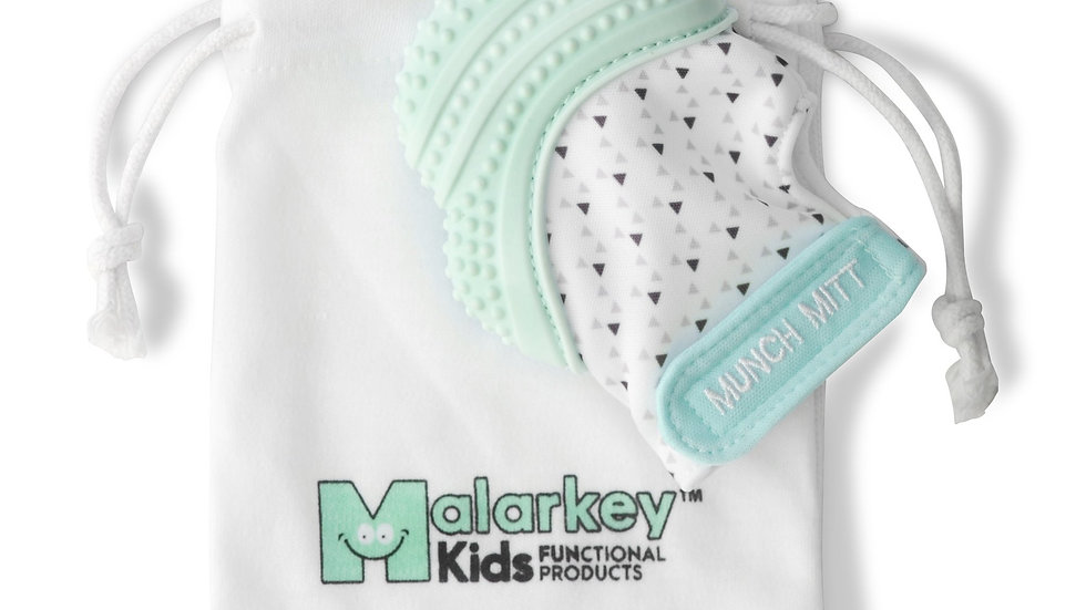 Malarkey Kids Munch Mitt Mint Green