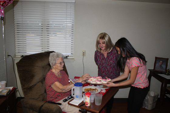 AGP Delivers Valentines to Nursing Home