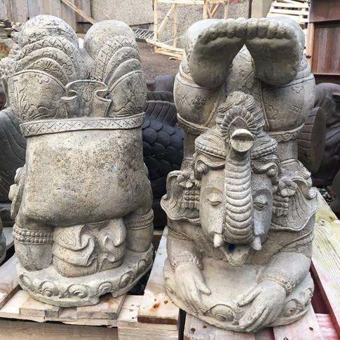Large Stone Ganesh