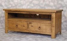Plank TV Unit 2 Drawers
