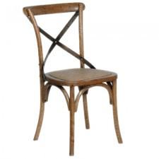 Oak Dining Chair Dark