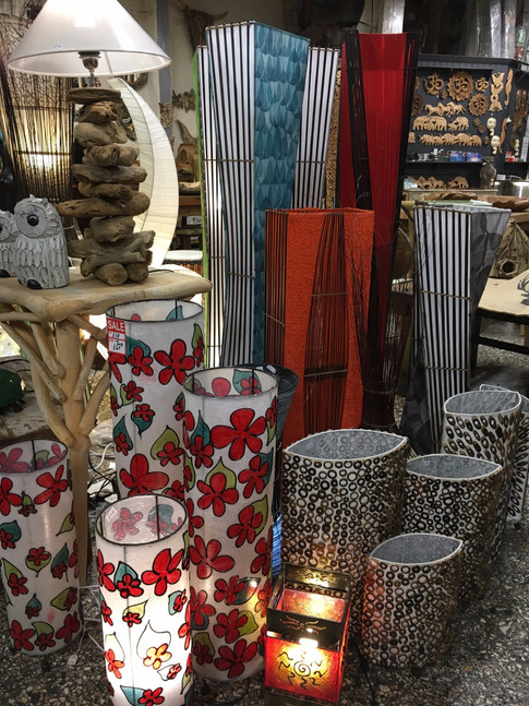 Balinese Lamps
