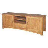 Oak Low Sideboard TV Unit