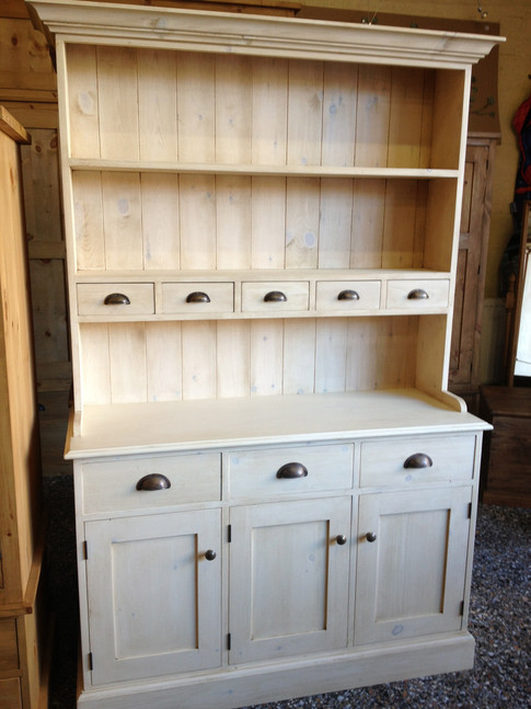 Welsh Dresser with Spice Rack