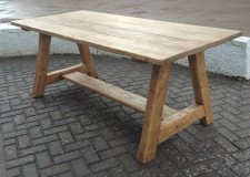 A Frame Dining Table