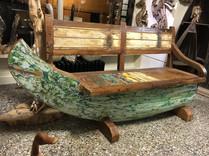 Boat Bench Green