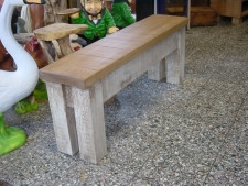 Bespoke Rustic Plank Bench
