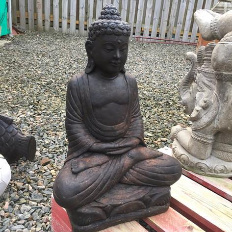 Dark Stone Buddha