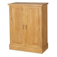 Oak 2 Door Cupboard