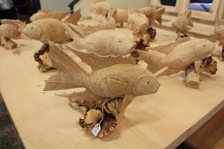 carved fish from £6