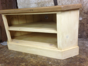 TV Unit Reclaimed Pine Top