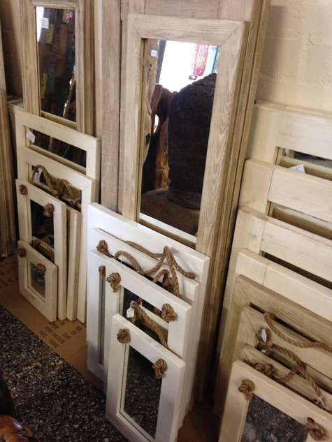 Various Painted Mirrors