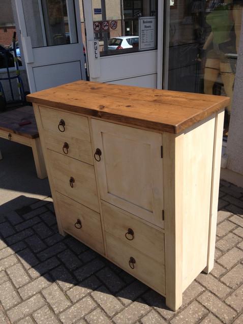 Plank Unit 6 Drawer 1 Door