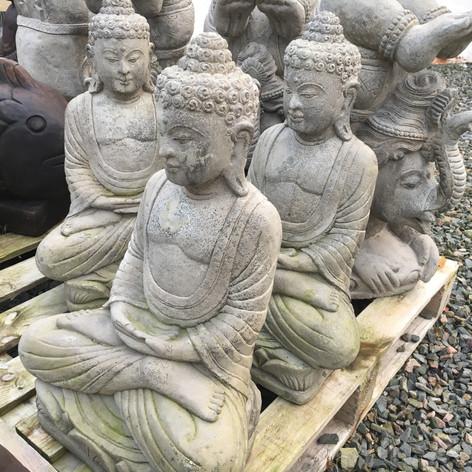 Large Stone Buddhas