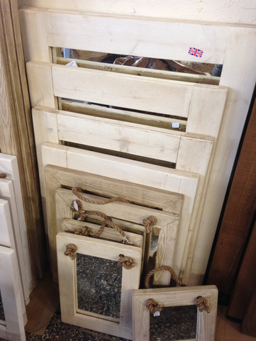 Various Sizes Painted Mirrors
