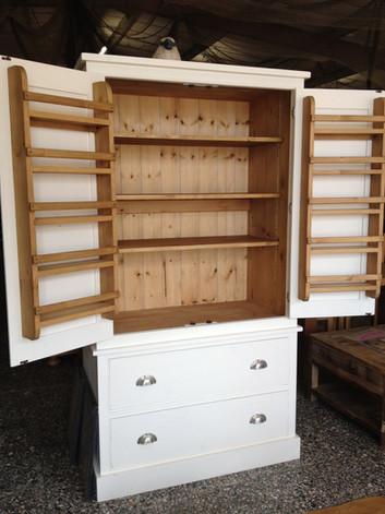 Bespoke Larder with soft close drawers