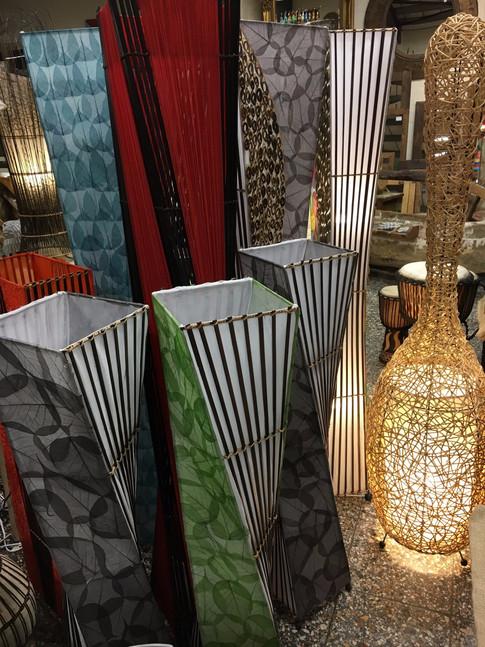 Balinese Floor Lamps