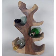 Wooden Wine Bottle Holder